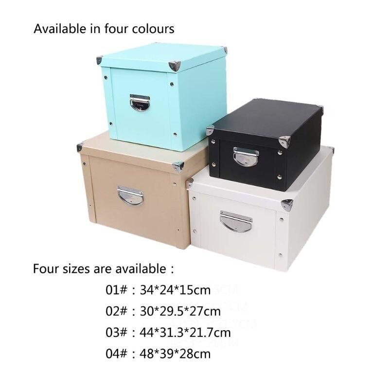 طوي تخزين LegalBox Deedbox حاوية قابلة للطي مع الأغطية ل ملف إلكتروني الملابس الأوراق وجبات خفيفة لعب الكتب
