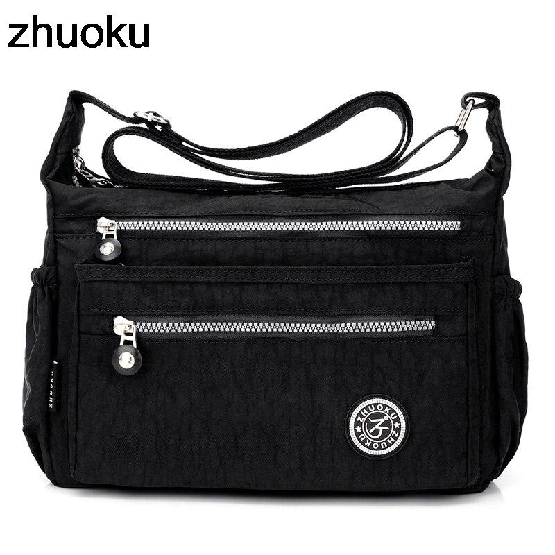 New 2018 Women Messenger Bags Mini Ladies Nylon Handbags Shoulder Bag For Women Handbag Bolsas Feminina