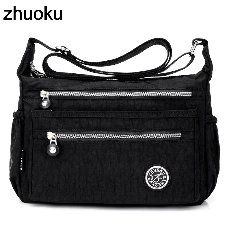 New 2019 Women Messenger Bags Mini Ladies Nylon Handbags Shoulder Bag For Women Tote Handbag Bolsas Feminina Crossbody Bags