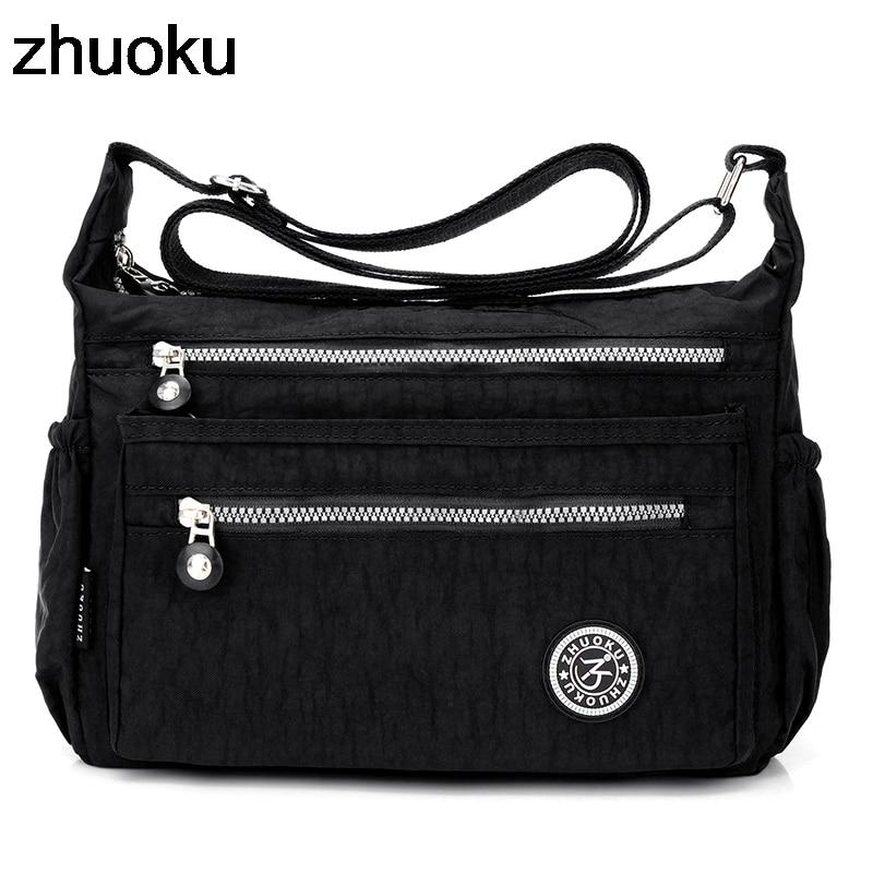 Women Messenger Bags Mini Ladies Nylon Handbags Shoulder Bag For Women Tote Handbag Bolsas Feminina Crossbody Bags