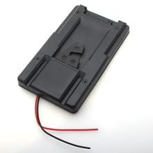 V-Lock V-mount Батарея Адаптер Плиты fr конвертер sony HDV DSLR Rig питания