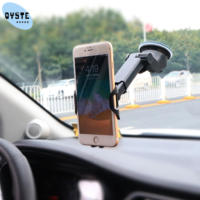 suporte celular carro Windshield Universal Car Phone Holder soporte auto Mobile Car Holder Cell Phone support smartphone voiture 5