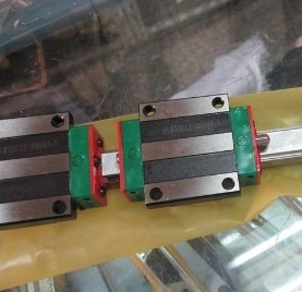 CNC HIWIN EGR15-1550MM Rail linear guide from taiwan cnc hiwin egr15 2400mm rail linear guide from taiwan