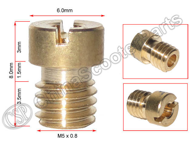 6 8 10 12 PCS M5 Round Main JET For Keihin CVK PE PZ PWK OKO KOSO CB CG GY6 Carburetor ATV Buggy Scooter Dirt Super Bike