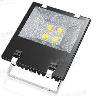 Haute qualité 100 W/200 W puce LED lumière d'inondation jardin éclairage extérieur lampe d'inondation intégré puce LED IP65 AC85-265V étanche