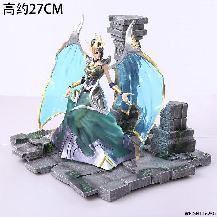 EMS Shipping 11 Game Morgana - Fallen Angel Boxed 27cm PVC Action Figure Collection Model Doll Toy Gift
