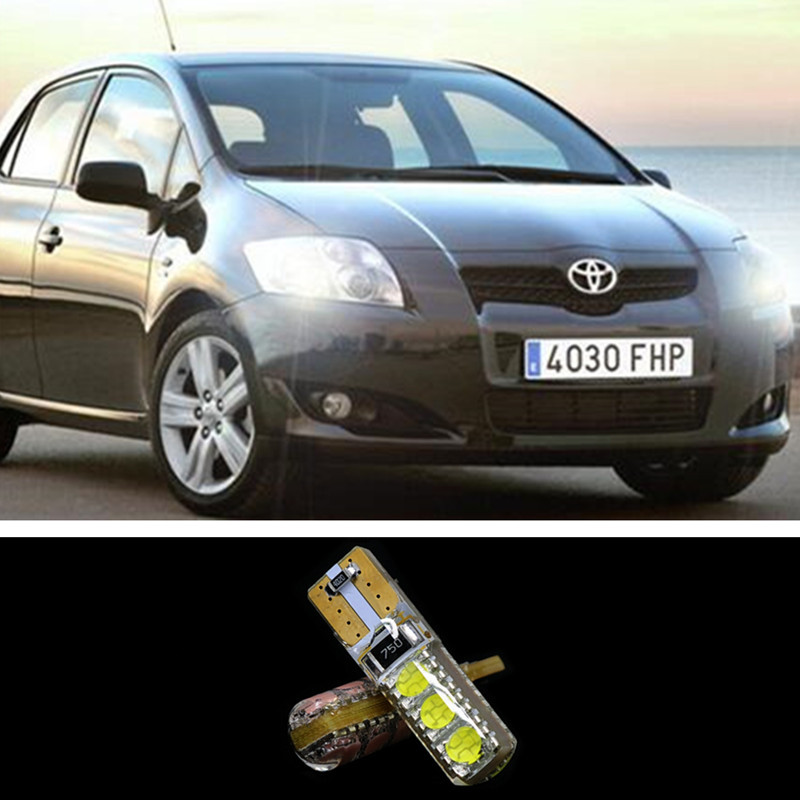 1pcs T10 W5w 6smd 5050 Error Free Led Canbus Clearance Light For Toyota Corolla 2014 Avensis