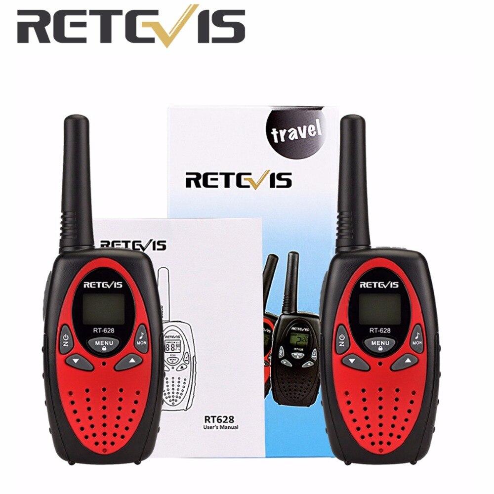 imágenes para 2 unids Retevis RT628 Niños Walkie Talkie Radio Mini 8CH 0.5 W UHF 446 MHZ Niños Juguete de Radio cb Portátil comunicador A1026