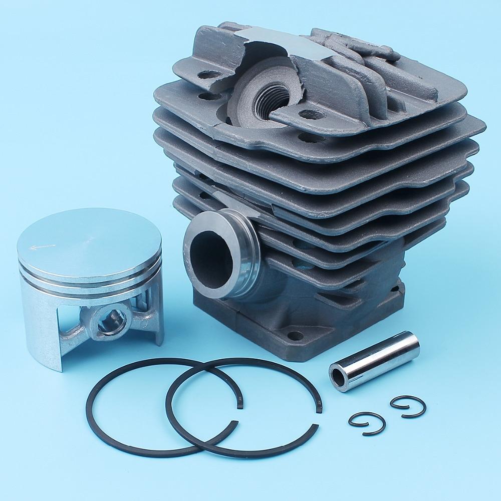 Cylinder & Piston Pin Ring Kit For Stihl 034, 034AV, 034 SUPER, 036, MS360 Chainsaw 48mm Nikasil Plated