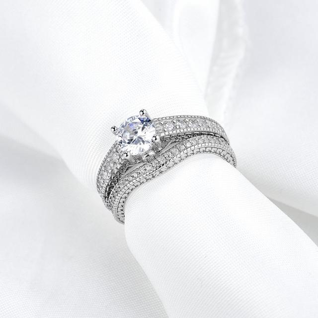 Engagement Ring Bridal Set