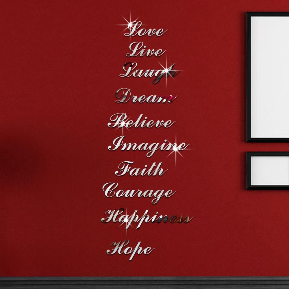 Lettere di alfabeto specchio acquista a poco prezzo lettere di ...