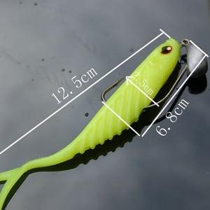 Image 5 - 5 Pcs jig Hooks 3.5g 5g 7g 10g 15g 21g Lead Head Fishing hook Tackle Saltwater jigging Soft Worm Hooks Isca Artificial Pesca