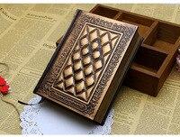 Love Gospel Notebook Pure Hand Embossed Notebook European Retro Creative Diary Magic Book Planner Notebook Penalty