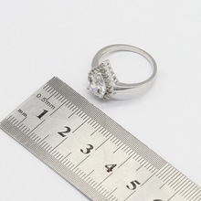Cubic Zircnoia Inlaid 925 Sterling Silver Jewelry Set
