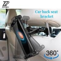 Zd assento de carro encosto de cabeça suporte montagem para mercedes w203 w211 w204 w210 benz bmw f10 e34 e30 f20 x5 e70 ipad tablet titular clipe