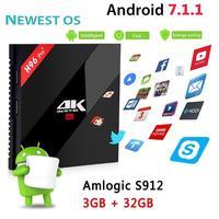 ALLOYSEED H96 Pro Amlogic Octa Core HD Media Player Set Top Box Android TV Box 3G