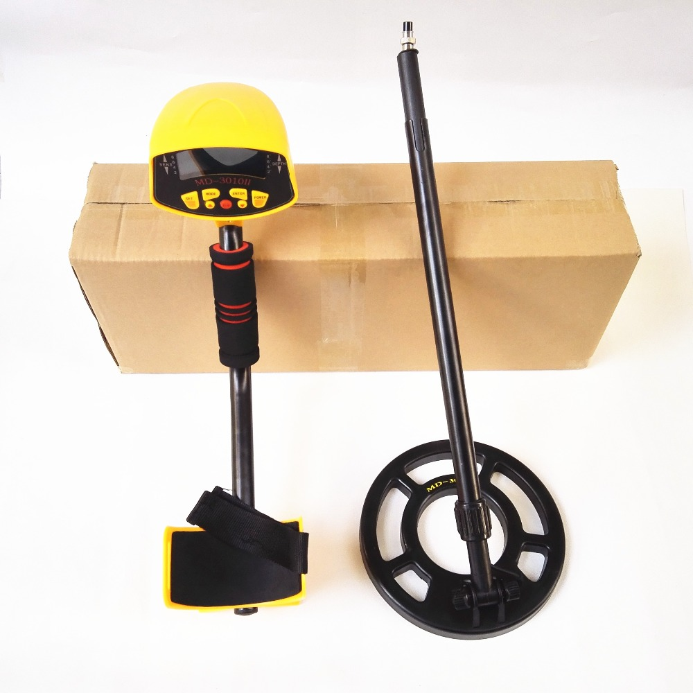 Free shipping Metal Detector MD3010II Hot Sale Gold Metal Detector High Sensitivity Underground Metal Detector цена