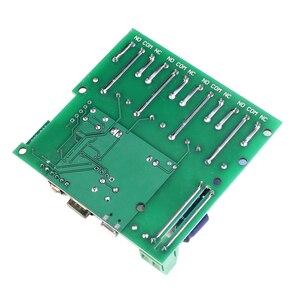 Image 4 - 220V 4 チャンネル Wifi リレーモジュール電話 APP ワイヤレスリモートコントロール無線 Lan スイッチジョグ自己ロックインターロック + 433 メートルのリモートコントロール