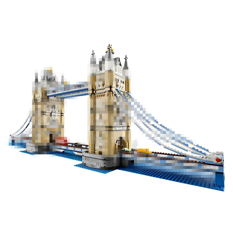 LEPIN 17004 4295Pcs London Bridge Model Building Kits Brick Educational Toys for Children Compatible with 10214 Christimas Gift new lepin 15003 2859pcs the topwn hall model building blocks kid toys kits compatible with 10224 educational children day gift