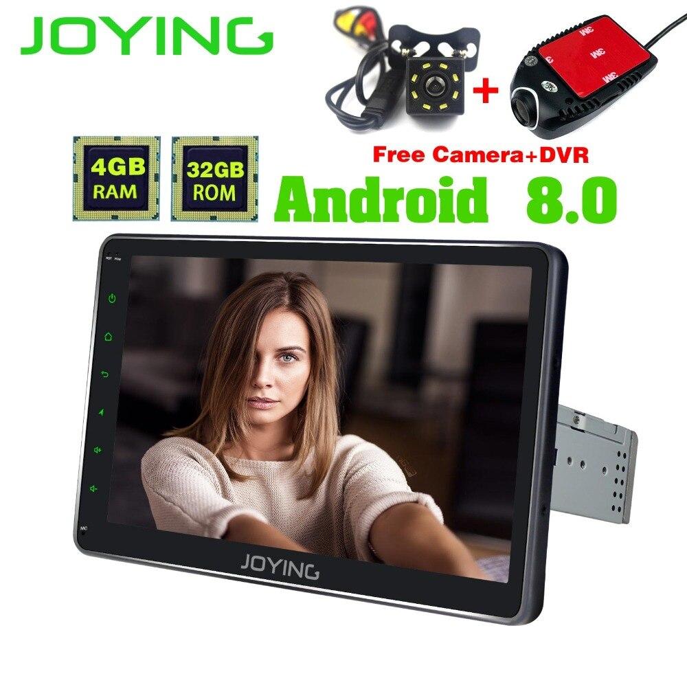 10,1 один 1 Din 4 ГБ + 32 ГБ головное устройство Универсальный android-автомобильный Радио стерео лента Регистраторы gps навигации Поддержка Carplay Wi-Fi ...