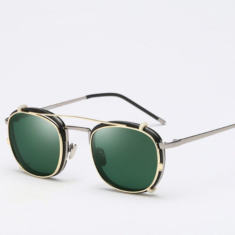 Polarized Clip-on Sunglasses Eyeglasses Frames Lightweight Square Optical Eyeglasses Frame Myopia Glasses Spectacles