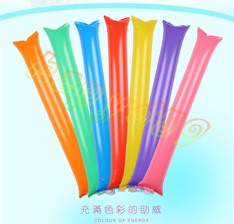 10pcs Inflatable Cheer Sticks Cheerleaders Inflatable Stick Against Cheering Sticks Noise Maker Ballon Concert Party Supplies