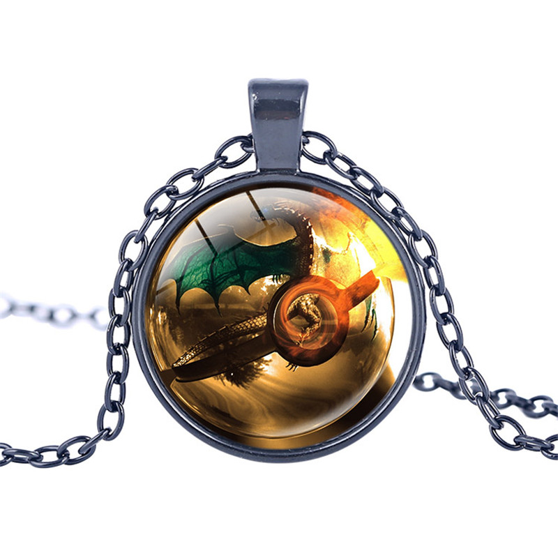 New arrival pokemon inspired necklace glass pendant dome cabochon new arrival pokemon inspired necklace glass pendant dome cabochon pendant jewelry silver plated pendants pokemon charm jewelry in pendant necklaces from mozeypictures Gallery