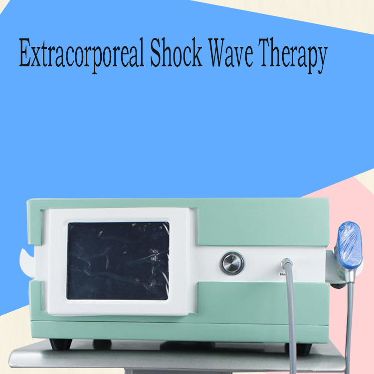 Physical Pain Therapy System Acoustic Shock Wave Extracorporeal Shockwave Machine For Pain Relief Reliever 8 Bar Infinite Shots