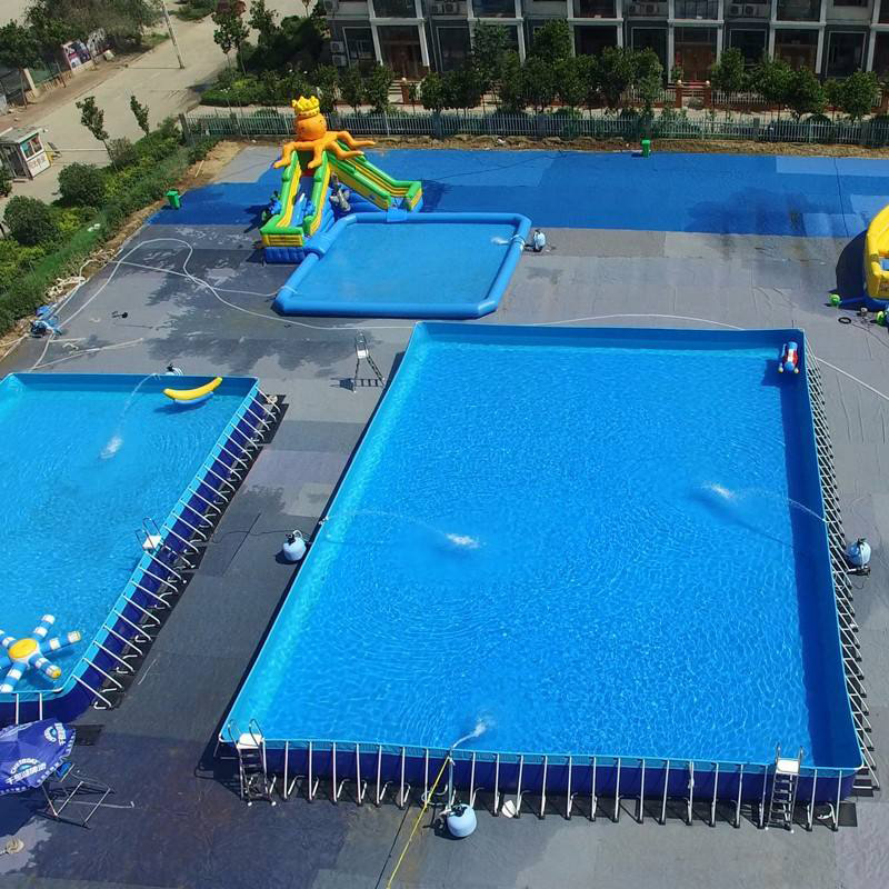 Cool Summer Inflatable Pools For Adults Bracket Swimming Pool