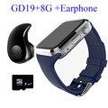 2016 nova gd19 smart watch android smartwatch relógio bluetooth telefone inteligente assistir Crianças Com Câmera Relógio Cartão SIM Slot Para PK GT08 DZ09