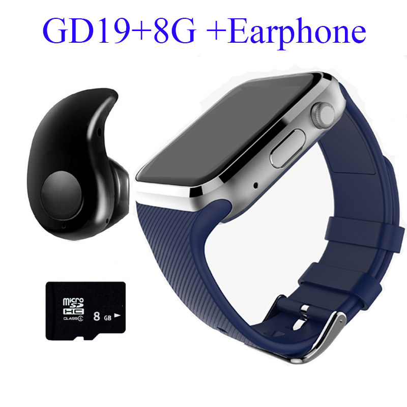 2016 New GD19 Smart Watch Android Clock Smartwatch Bluetooth Phone Smart Watch Kids With Camera SIM Card Watch Slot PK GT08 DZ09