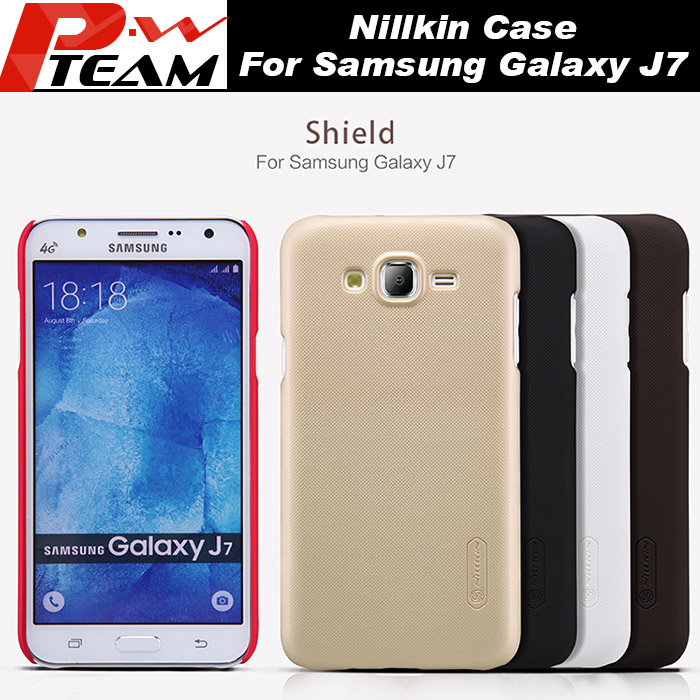 849f55a5641 For Samsung Galaxy J7 Case 100% NILLKIN Super Frosted Shield Matte Hard Back  Case Cover For Samsung Galaxy J7 Screen Protector