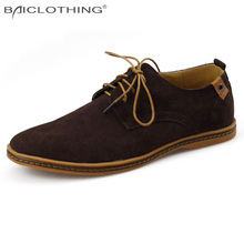 Discounts Men Shoes 2016 Spring Autumn Fashion Synthetic Leather Casual Shoes Soft Comfortable  Flat Shoes Plus Size 38-48