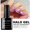 Gel Len 20 Elegant Colors Halo Gel Polish Fashion Nails Art Glitter Lacquer LED Soak Off Long-lasting Gel Varnish Polish