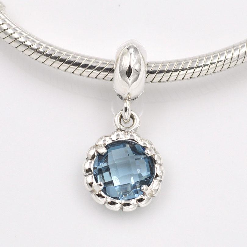 f71f84385 ... gift necklace df9d3 b6a44; australia original 925 sterling silver beads  blue bell pendant charm fits pandora charms bracelet diy jewelry