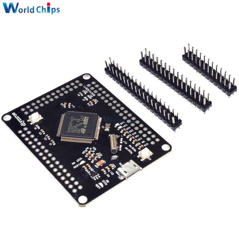 Процессор STM32F407VGT6 Discovery ARM Cortex-M4 32 бит MCU Core, процессор с FPU Core, плата для прорыва, Micro USB, diy Электронный комплект