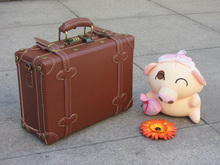 """Customized!Vintage cowhideleather travel luggage suitcase bag,10"""" 12"""" 14"""" 18"""" 20"""" 22"""" 24"""" 28"""" 30"""" high quality travel suitcase"""