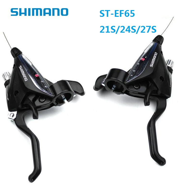 SHIMANO ST EF65 7S 8S 9S Derailleur Conjoined Dip 21S 24S 27S MTB City Bike Brake Shift Lever Bicycle Speed Shift Accessories 105 st 5800 2 x 11 speed brake shift bike dual control lever 1 pair