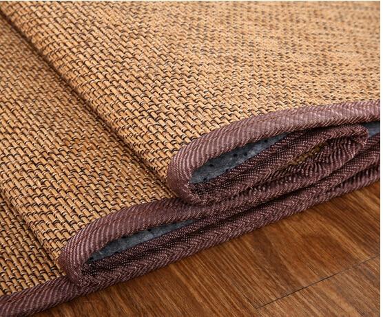 180x180 cm bamb alfombra cuadrada alfombra del piso saln suave
