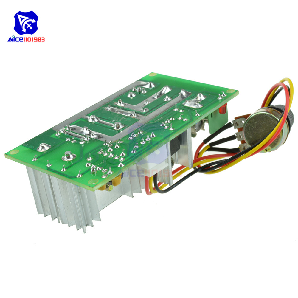 Electrical Equipments & Supplies Motor Controller 20a Dc10v-60v Pwm Hho Rc Motor Speed Regulator Controller Switch New Rapid Heat Dissipation