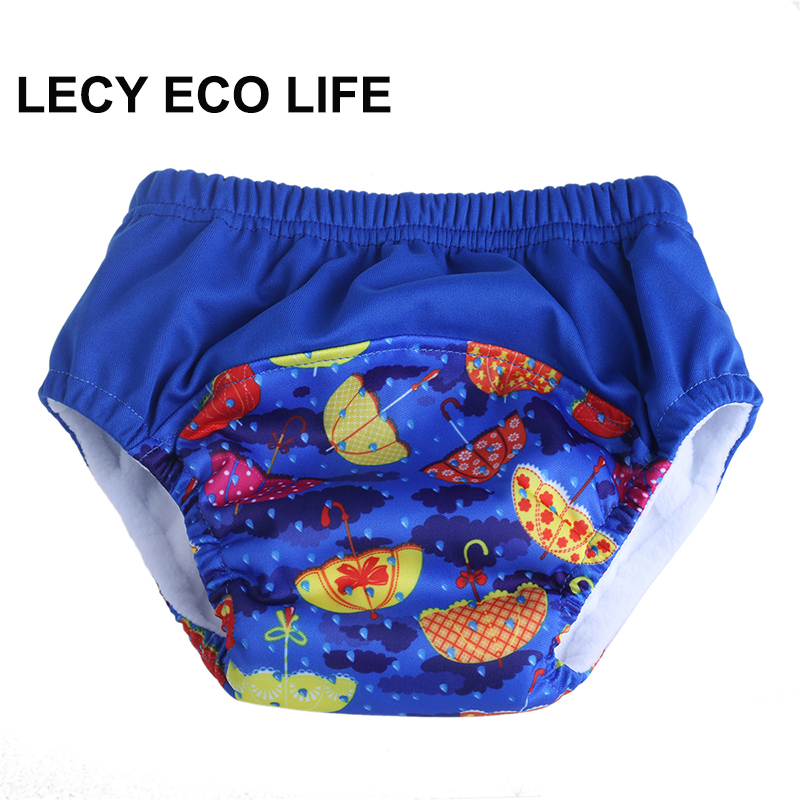 Pull up design reusable toddler potty training Pants with absorbent microfiber, stay dry microfleece inner baby waterproof pants цена 2017