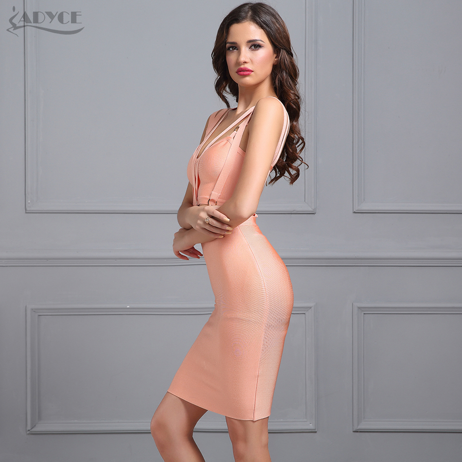 Adyce 2018 Neue Frauen Sommer Mini Bandage Kleider Sexy V ausschnitt ...