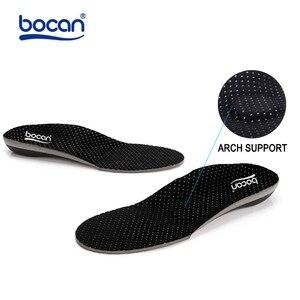 Image 4 - Ортопедические стельки BOCAN для плоскостопия, ортопедические стельки с супинатором для мужчин и женщин, амортизирующие стельки 6010