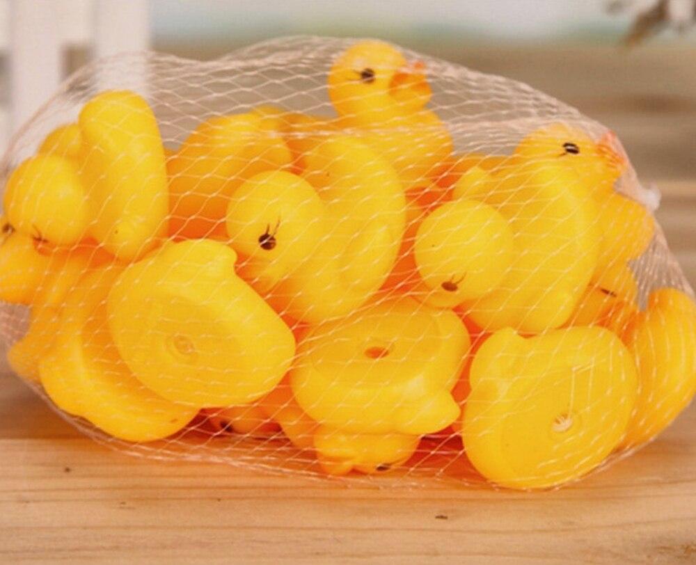 bebê flutuante squeeze animal amarelo borracha pato