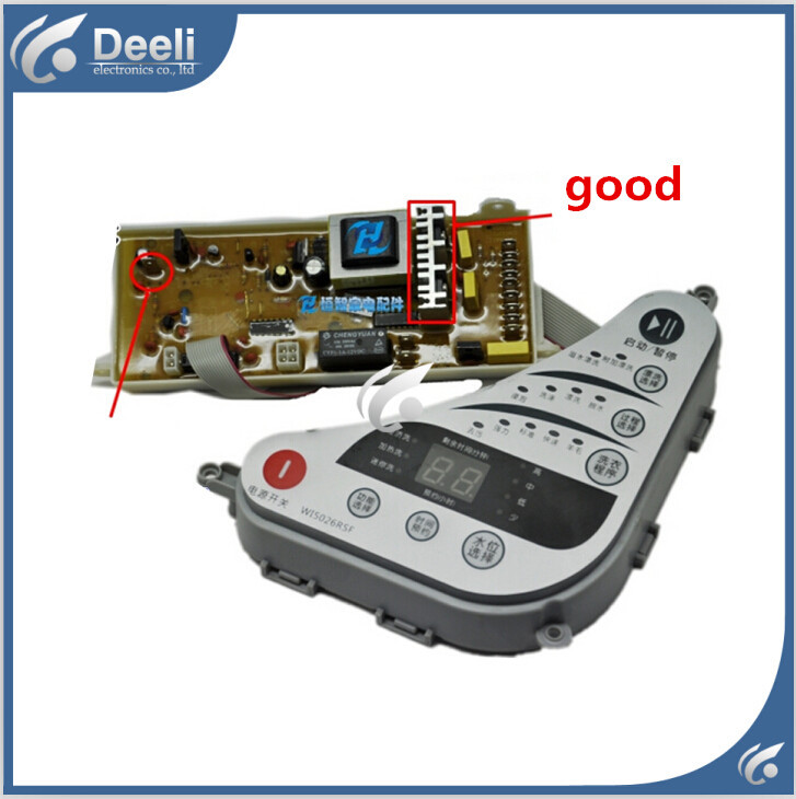 Free shipping 100% tested for washing machine board C303854 WI5026RSF C303854C W15026RSF control board motherboard on sale 100% tested for washing machine board wd n80051 6871en1015d 6870ec9099a 1 motherboard used board