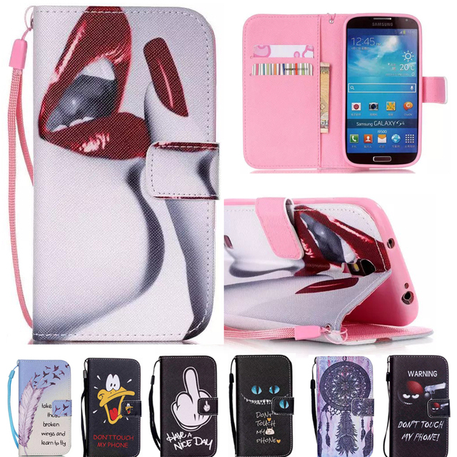 Case Cover For Samsung Galaxy S4 Case Leather Silicone Cover for Samsung Galaxy S4 S 4 GT-I9500 GT-I9505 GT-I9506 GT-I9515 GT-S4