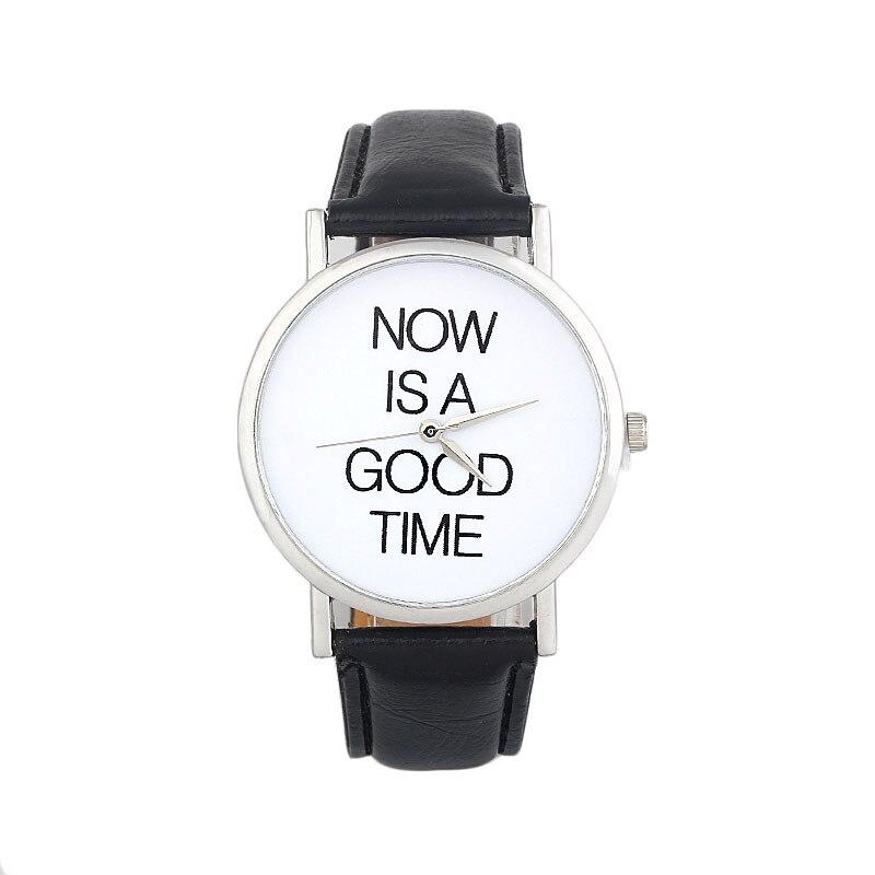 Relogio Feminino Clock NOW IS ...