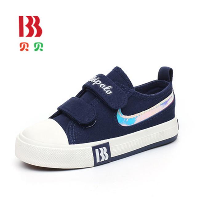 2017 meninos da lona shoes outono crianças sneakers crianças casual fashion shoes meninas da criança shoes esportes respirável flats 6237