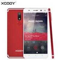 XGODY 5 5 Inch Smartphone Fingerprint Android 7 0 2G RAM 16G ROM MTK6737 Quad Core