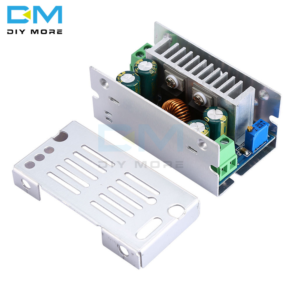 DC DC 15A 200W 60V Adjustable Step Down Converter Buck Board Adjustable Voltage Module Stabilized Synchronous Rectification